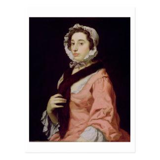 Une femme inconnue, appelée Peg Woffington (huile Carte Postale