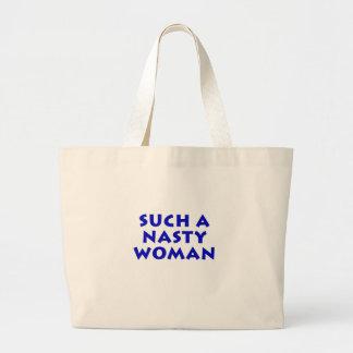 Une femme si méchante grand tote bag