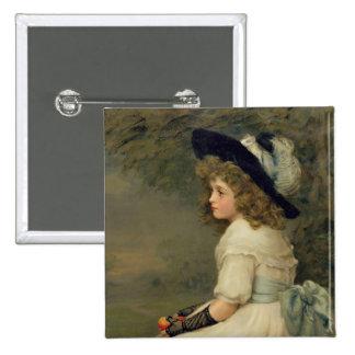 Une fille d'Ève, poires annuaire, Noël, 1899 Badges