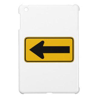 Une flèche de direction laissée, trafiquent le coque pour iPad mini