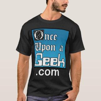Une fois sur une chemise de noir de geek t-shirt