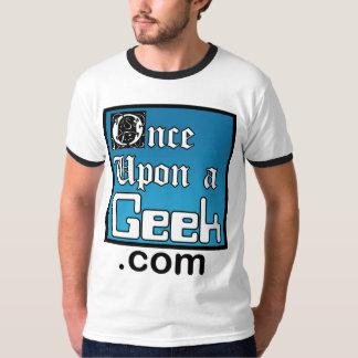 Une fois sur une chemise de sonnerie de geek t-shirt