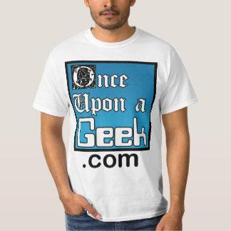 Une fois sur une chemise de valeur de geek t-shirt
