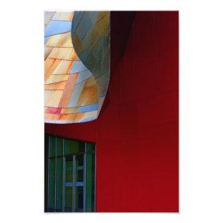 Une forme de rouge photographie