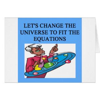 Une grande conception de physique cartes