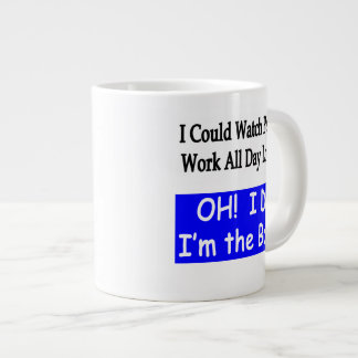 Une grande tasse pour le patron !