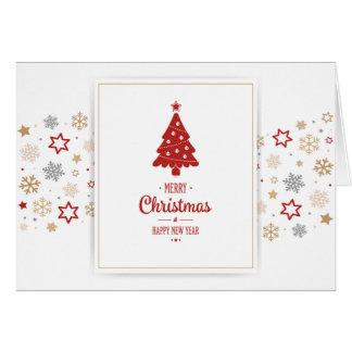 Une grossesse de vacances de Noël très Joyeux Cartes De Vœux