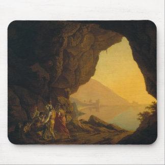 Une grotte dans le royaume de Naples Tapis De Souris