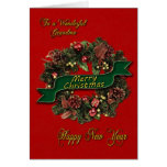 Une guirlande de fête de Noël pour votre Cartes De Vœux