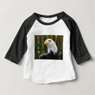 Une image américaine des Etats-Unis Eagle chauve T-shirt Pour Bébé