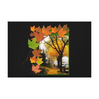 Une journée agréable d'automne toile
