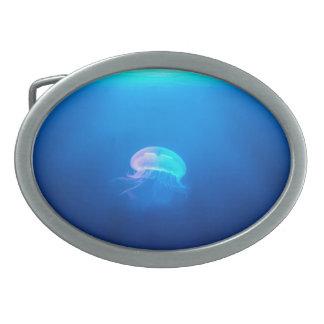 Une méduse boucle de ceinture ovale
