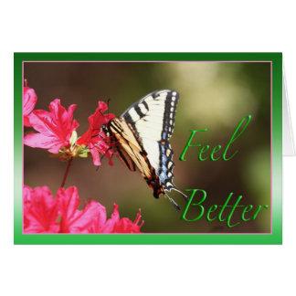 Une meilleure carte de papillon de sensation