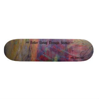 Une meilleure vie par la Science Skateboard Old School 21,6 Cm
