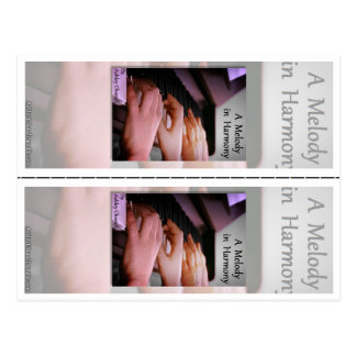 """""""Une mélodie en harmonie"""" par des signets d'Ashley Cartes Postales"""