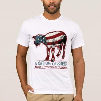 Une nation de T-shirt de moutons