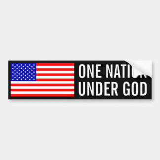 Une nation sous Dieu Autocollant Pour Voiture