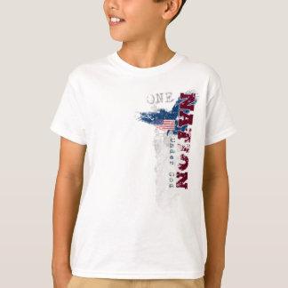 Une nation sous le T-shirt grunge de l'enfant de