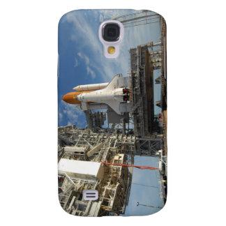 Une navette spatiale de vue l'Atlantide sur la Coque Galaxy S4