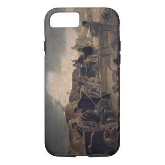Une nuit chaude dans les batteries, plat 'de Seat Coque iPhone 7