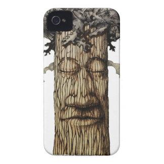 Une page de couverture puissante d'arbre coques Case-Mate iPhone 4
