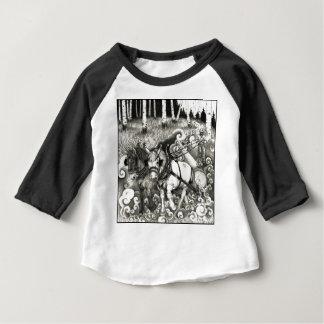 Une page PUISSANTE 14 d'ARBRE T-shirt Pour Bébé