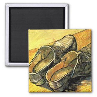 Une paire d entraves de cuir par Vincent van Gogh Aimant Pour Réfrigérateur