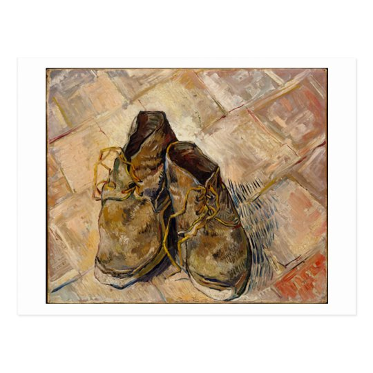 une paire de chaussures vincent van gogh carte postale. Black Bedroom Furniture Sets. Home Design Ideas