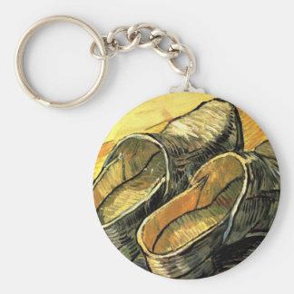 Une paire d'entraves de cuir par Vincent van Gogh Porte-clé Rond