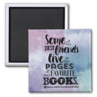 Une partie de mon aimant carré de meilleurs amis