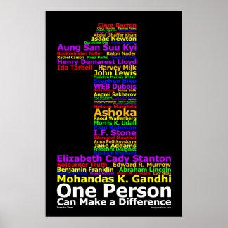 Une personne peut faire une différence (l'affiche)