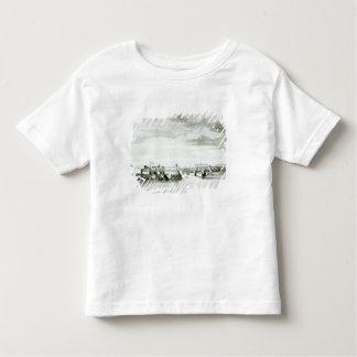 Une perspective du château de Moro et de la ville T-shirt