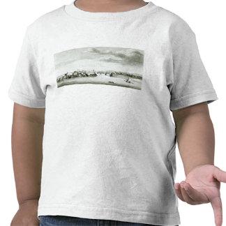 Une perspective du château de Moro et de la ville T-shirts
