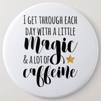 Une peu de magie et beaucoup de caféine badge