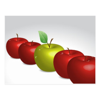 Une pomme pour chacun cartes postales