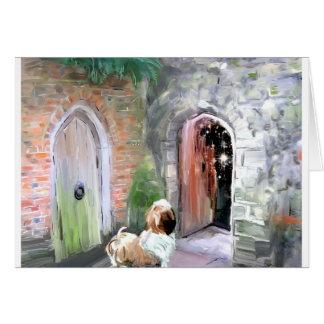Une porte Closes_PAinting_Equalized.jpg Carte De Vœux