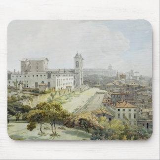 Une position de Rome adoptée du Pincio, 1776 (la s Tapis De Souris