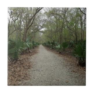 Une promenade en nature petit carreau carré