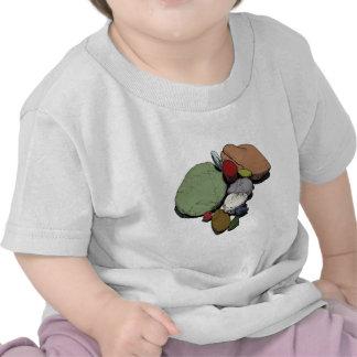 Une réunion des pierres colorées t-shirts