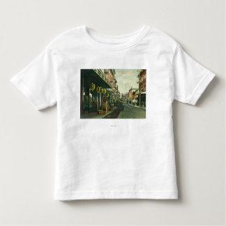 Une scène de rue de Chinatown T-shirt Pour Les Tous Petits