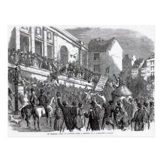 Une scène d'élection chez Kilkenny Carte Postale