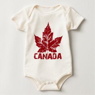 Une seule pièce de bébé du Canada de pullover de