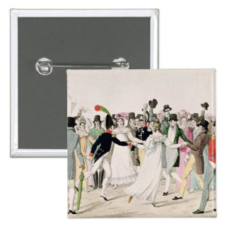 Une soirée chez le Tuileries en juillet 1815 Badge