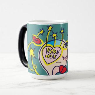 Une tasse avec une vision