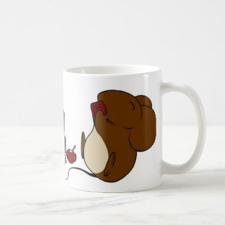 Une tasse caféinée de conte de souris