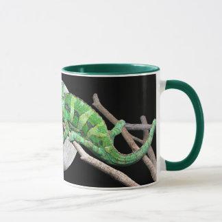 Une tasse de lune de lézard