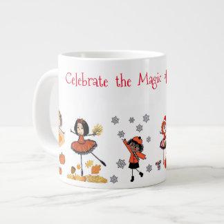 Une tasse pendant toutes les saisons - célébrez la