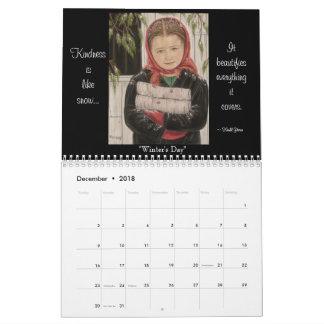 """""""Une vie simple"""" un calendrier amish de la"""