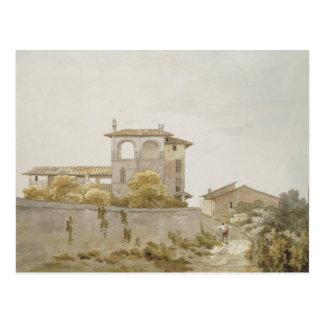Une villa italienne cartes postales