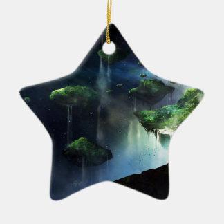 Une vision de purgatoire ornement étoile en céramique
